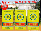 3 Kilo Canarias Yerba Mate From Uruguay W/out Stems - Free Shipping to U.S!