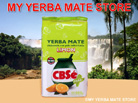 CBSe Yerba Mate Lemon Flavored 500Gram con Palo
