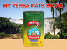 Cabral yerba mate Compuesta without Stems 1 Kilo