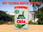 CBSe Yerba Mate - 1 Kilo -  Hierbas Serranas with Stems