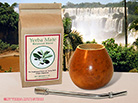 Natural Color Yerba Mate Gourd