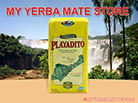 Playadito Yerba Mate - 1 kilo with stems