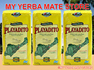Playadito Yerba Mate - 3 Kilos with stems