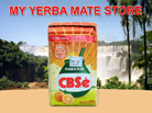 CBSe Yerba Mate Orange -  500_Grams - with Stems
