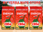 CBSe Yerba Mate Energia w/ Guarana - 3 Pk - Free Shipping to U.S!