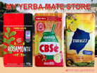 Yerba Mate 3X 1.1 lbs Variety Pack - Free Shipping to U.S.!