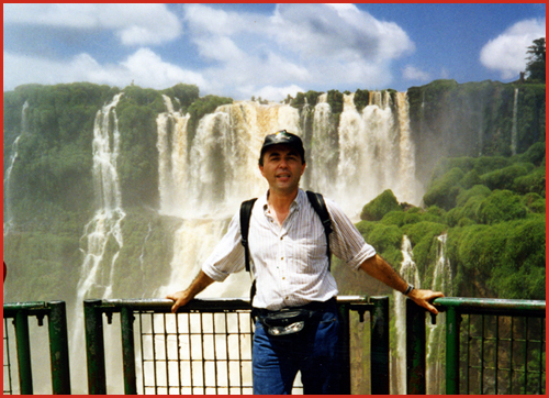 Pete in Iguazu