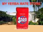 Sara yerba mate with Stems 1 Kilo