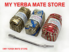 3 Yerba Mate Samplers with a Bombilla